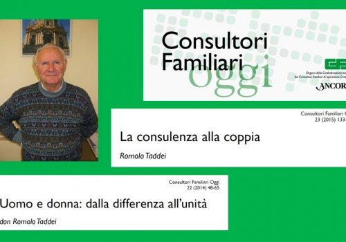 Due contributi di don ROMOLO TADDEI